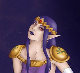 A Link Between Worlds' Hilda (Dark Zelda)