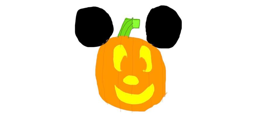 Mickey Mouse Jack-O-Lantern By HazardFire715 On DeviantArt