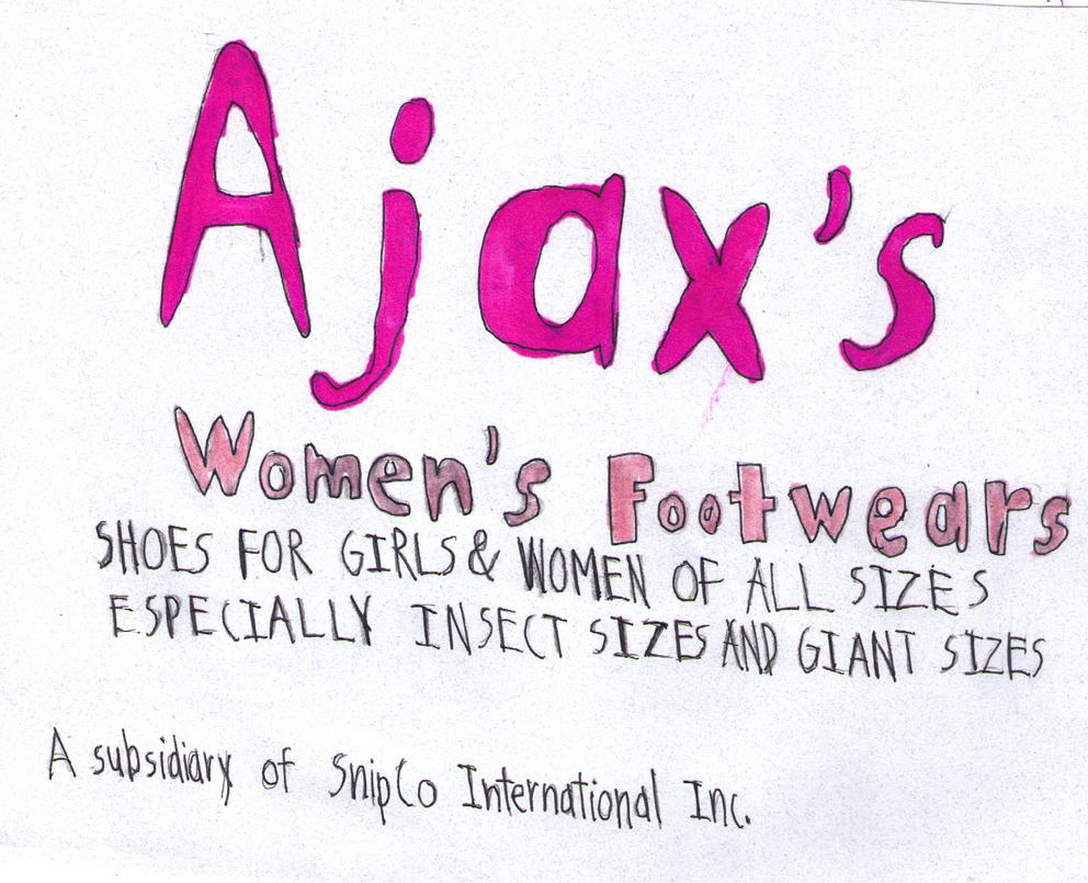 Ajax's Women's Footwears logo by FireshockerBill