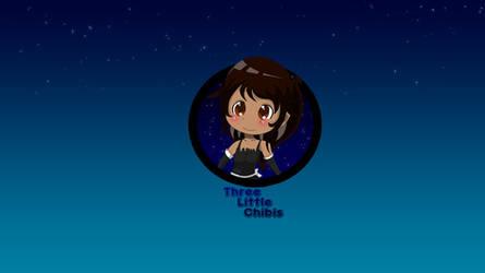 Brina-chan with galaxy background by StarProjectCreation