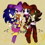 NiGHTS Reala Sonic Shadow by supply