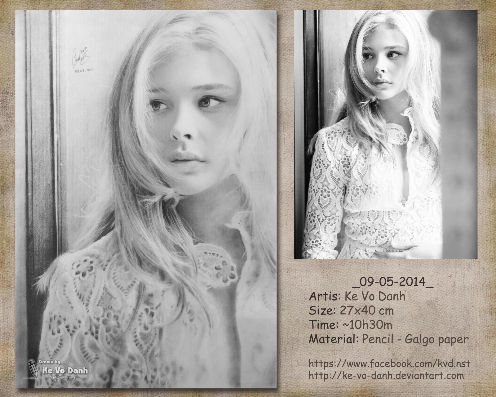 [Drawing pencil] 2014-05-09 [Portrait] by ke-vo-danh