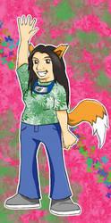 Meredith J. Kitsune by PrincessHannah