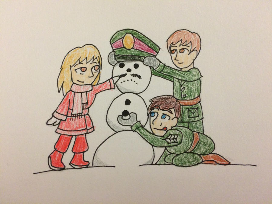 Doctor Who - UNIT in the Snow by PrincessHannah