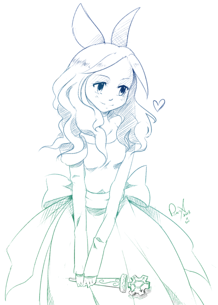 Sketch Cm Princess Haley By TobixAdopts On DeviantArt