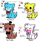 FNaF2 Kitten Adoptables (CLOSED)
