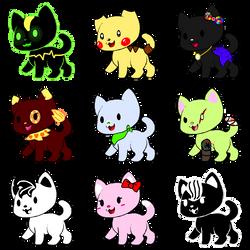 Kitty Adoptables (OPEN)