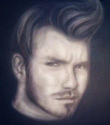 David Beckham  by yaser77