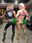 Trish Stratus And Mandy Rose farting
