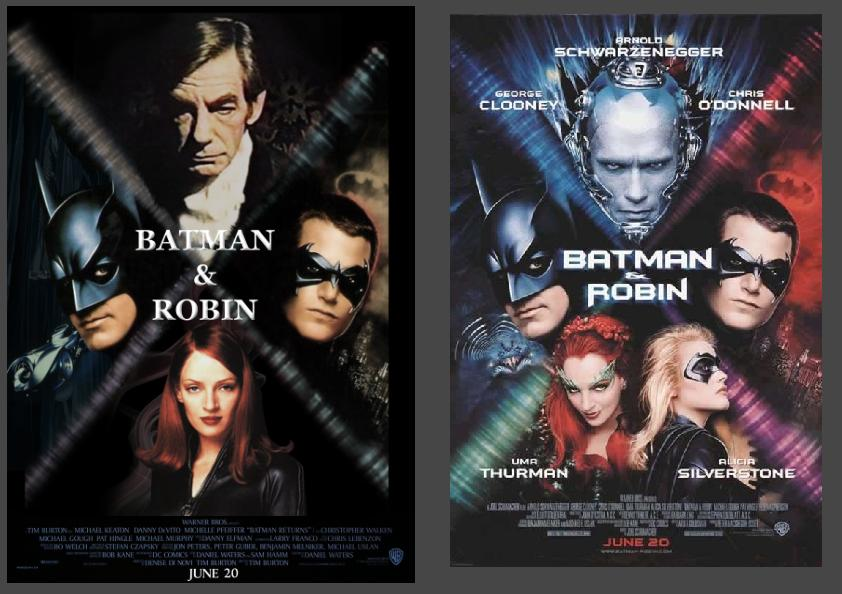 Batman and Robin cover, alternate version. by CyranoInk