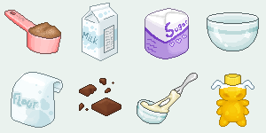 Pixel Foods Plz by StapledSlut