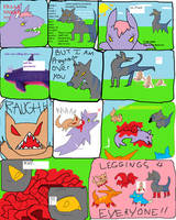 MSPaint Comic - The Dog's Meow by StapledSlut