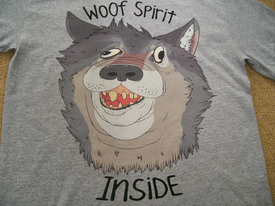 Woof Spirit Inside by StapledSlut