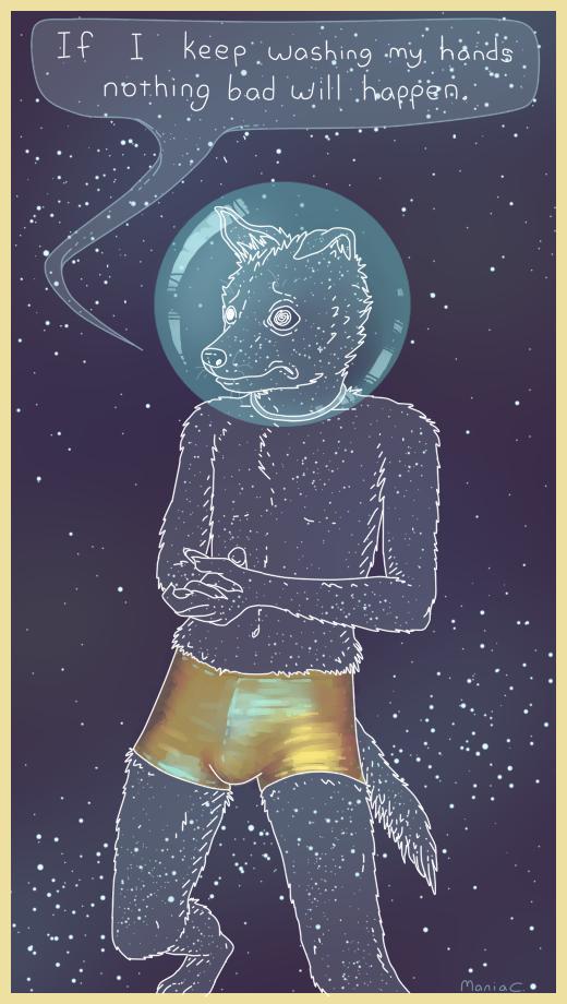 Cosmic Dog Boy by StapledSlut