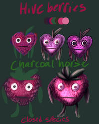 Hiveberries (CLOSED SPECIES) by Charcoalhorse