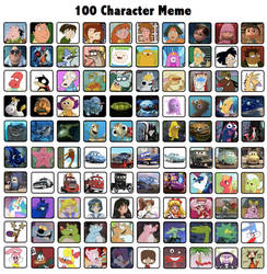 My 100 Favorite Characters 2 by Zim999