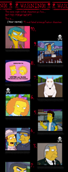 The Top Ten Worst Simpsons' One time Characters by Zim999