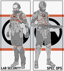 Black Mesa Combat Suits by Prospass