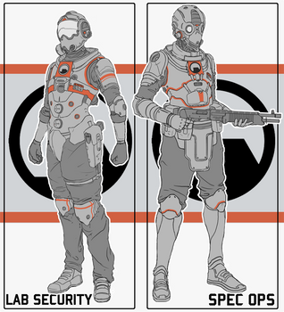 Black Mesa Combat Suits by Prospass