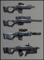 Assault Rifle by Prospass