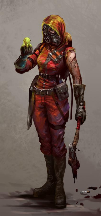 meet the pyro girl