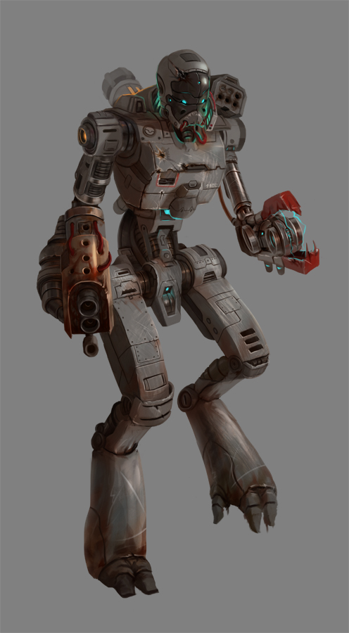 Rusty Bot by Prospass
