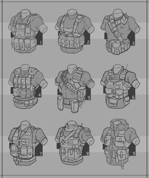 Redshirt : Tactical Vest by Prospass
