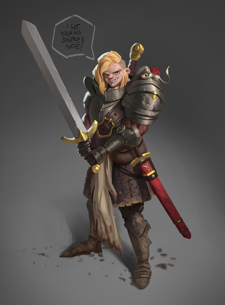 Lady Knight by Prospass