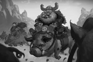 Pig Riders