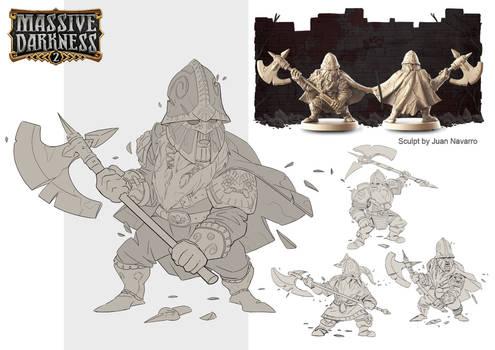 Massive Darkness 2: Living Statue Minion