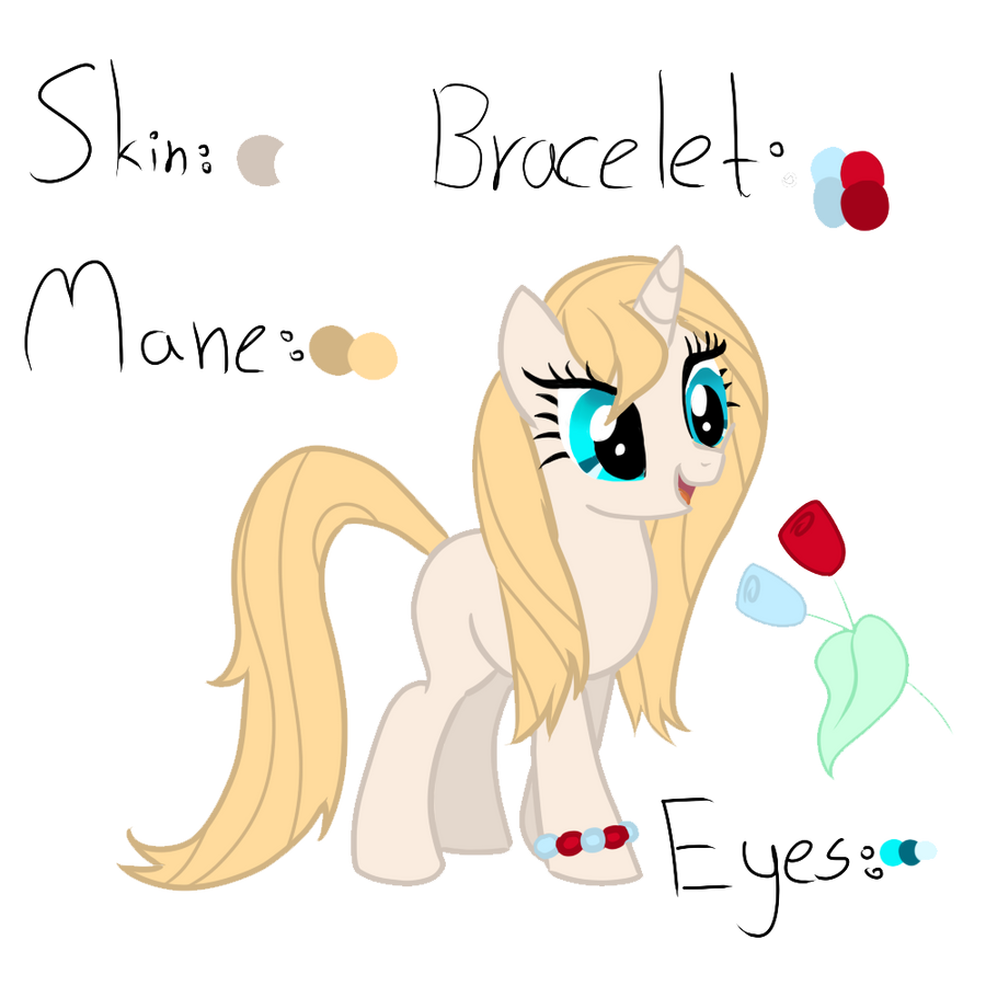 Crystal Rose new ref by LiahMew