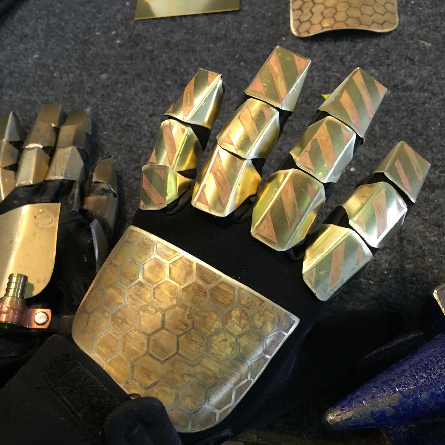 how to make a steampunk glove