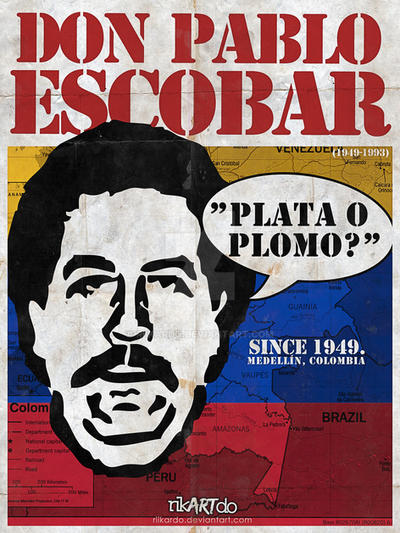 DON PABLO ESCOBAR. by riikardo