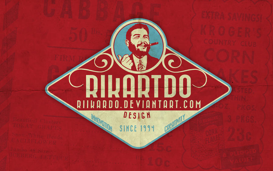 Rikartdo Retro Logo By Riikardo On Deviantart