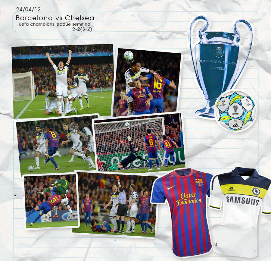 Image Result For Chelsea Vs Barca Ucl