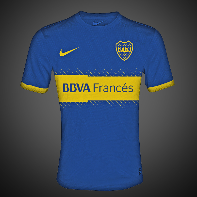 quality design 1420a 1f8a7 Boca Juniors 2012/2013 Jersey by riikardo on DeviantArt