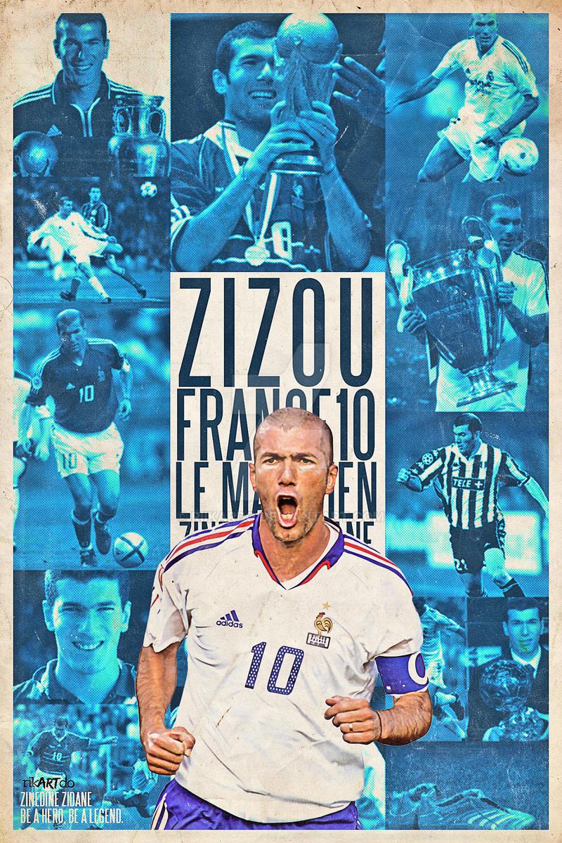 Zinedine Zidane by riikardo