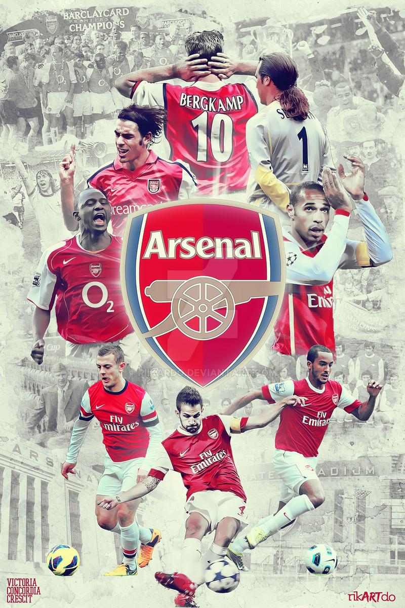 Arsenal Football Club by riikardo on DeviantArt