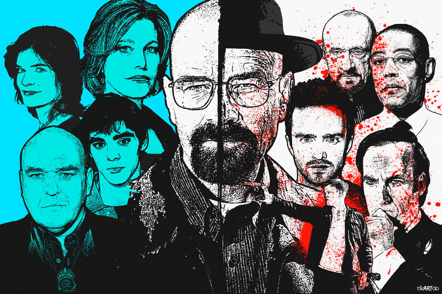 Walter White ''Family and Business''. by riikardo