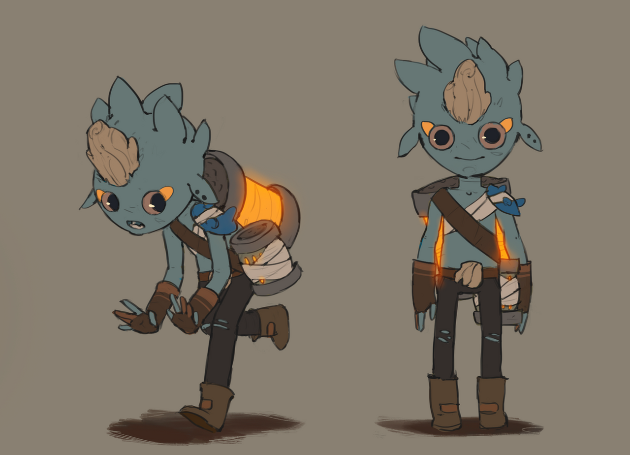 Game Animation Character Design Book 2015 : Victor by guillegarcia on deviantart