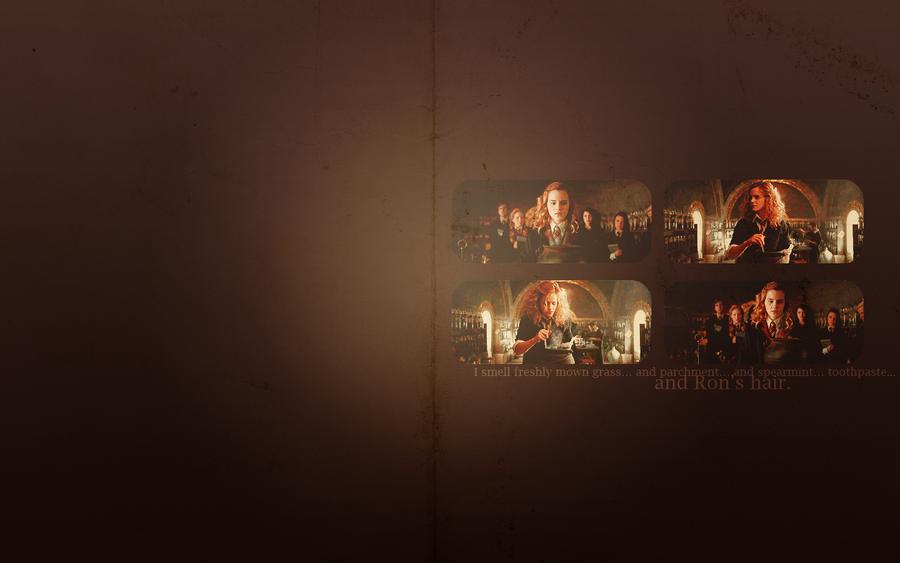 Hermione's amortentia by avadaxkedavra