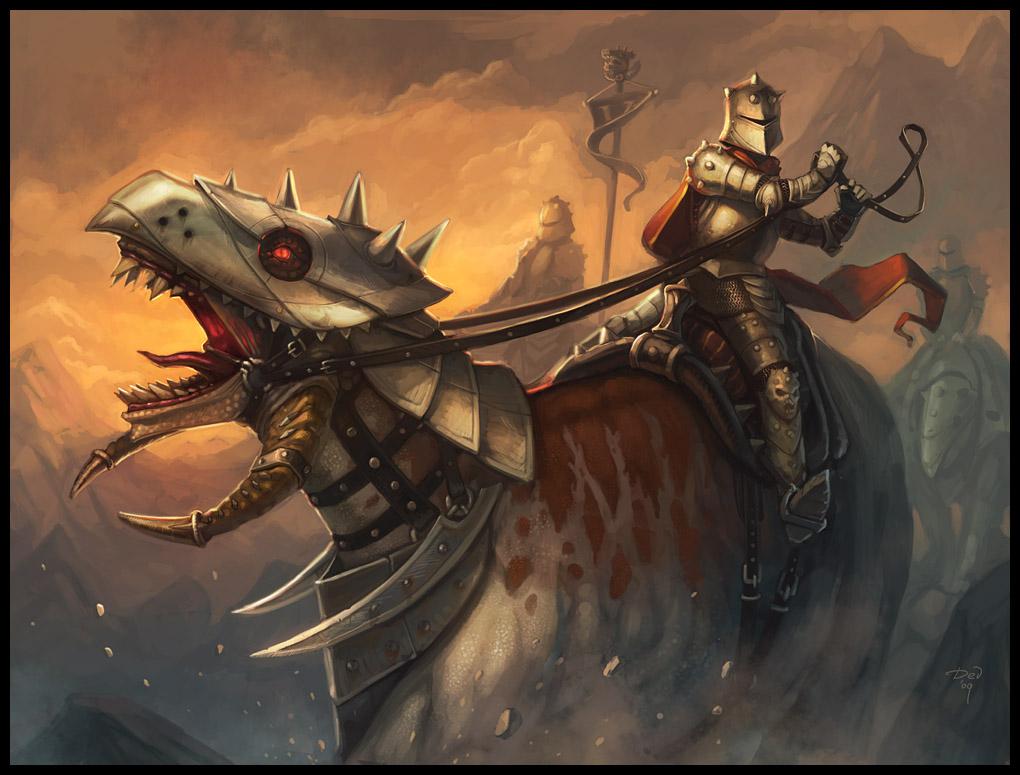 Hellbeast Riders by DevBurmak