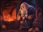 Vampire dwarf by DevBurmak