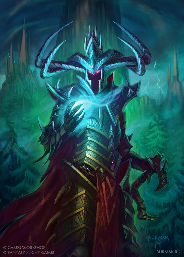 [Warhammer Fantasy Battle] Images diverses - Page 3 Malekith_by_devburmak-d3iytfe
