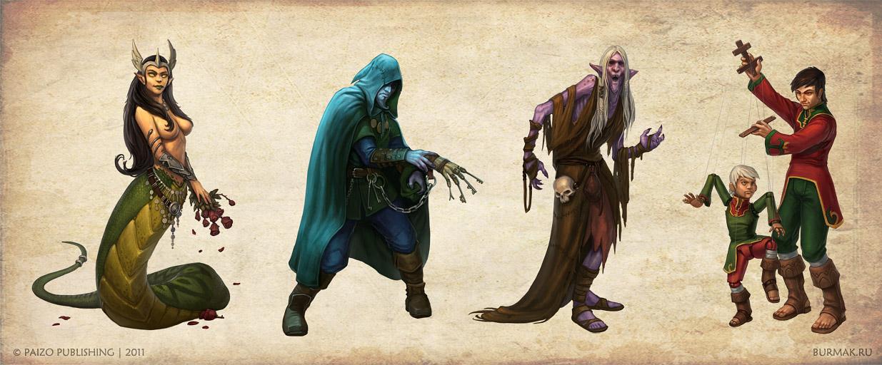 Harrowing Characters by DevBurmak