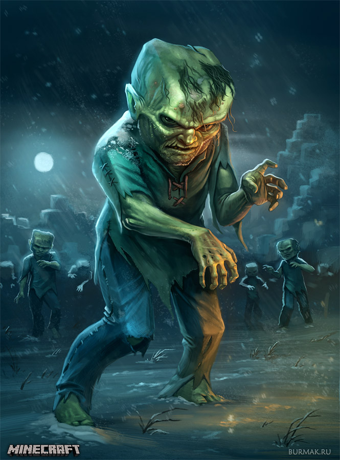 Minecraft fanart - Zombie
