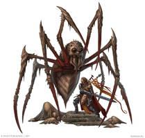 Spider attack by DevBurmak