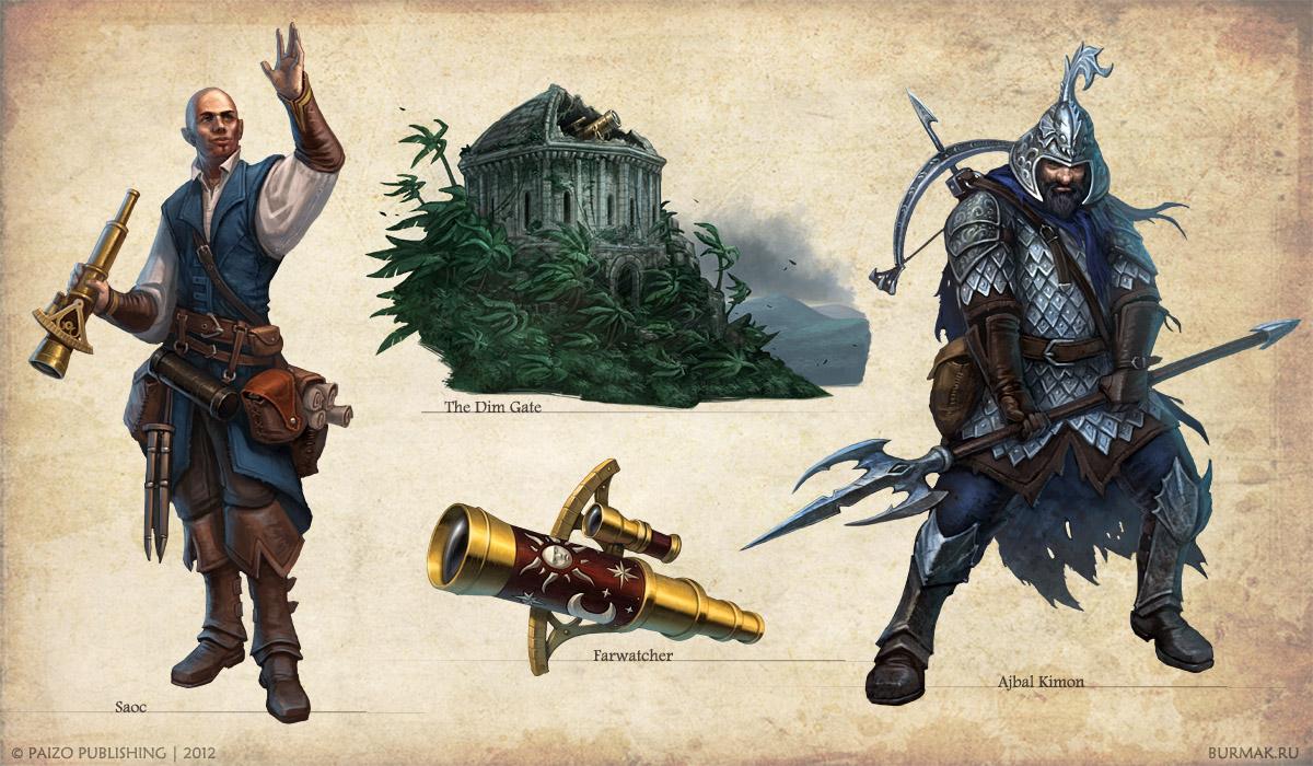 Lost Kingdoms art by DevBurmak