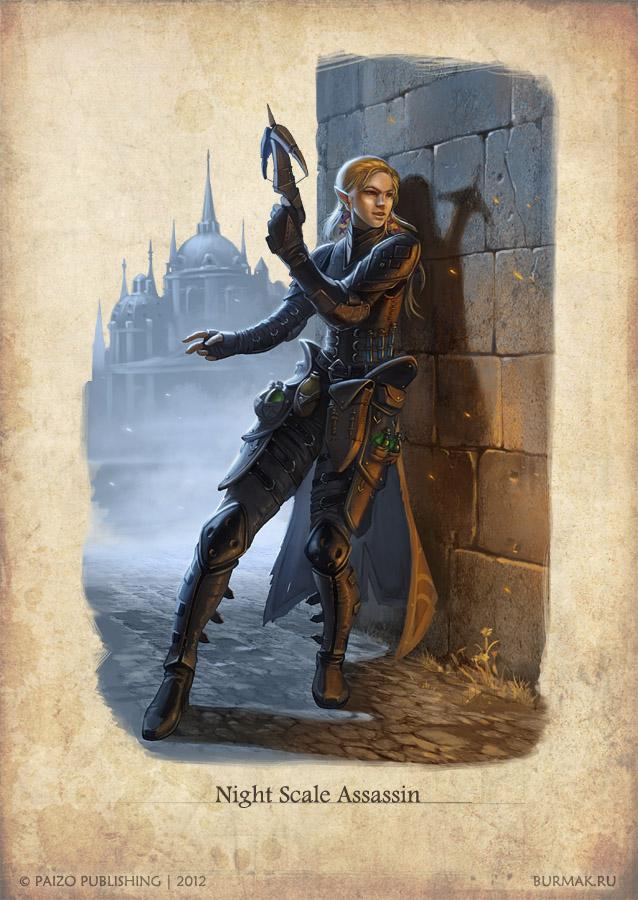 Night Scale Assassin by DevBurmak