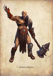 Shoanti Gladiator by DevBurmak
